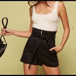 Reformation Linen Shorts